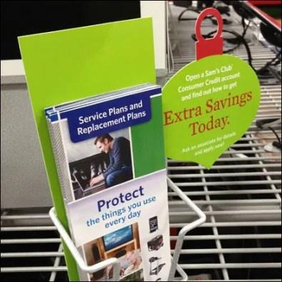 Open Wire Bolt Down Grid Shelf Literature Holder 1