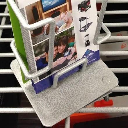 Grid Shelf Literature Holder 2