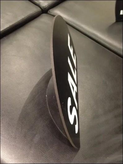 Heat Bent Sign Circle 2