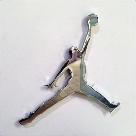 Air Jordan Logo as Display Bling