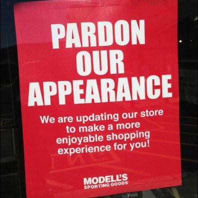 Pardon Our Appearance Aux