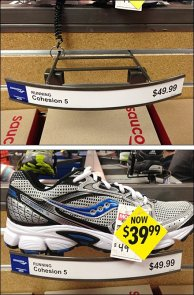 Hybrid Slatwall Shoe Tray Main