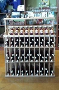 Wine Bottle Linear Rack 2