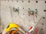 Acrylic Bin with Flatback Backplate Fails