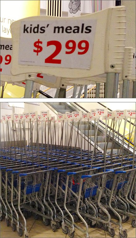 Flotilla of Shopping Cart Main Composite