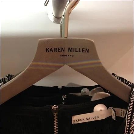 Karen Millen Logo Clothes Hangers