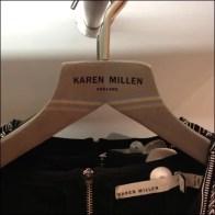 Hanger Logo Karen Millen Detail