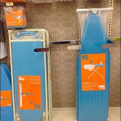 Ironing Board Display Divider Challenge Solved