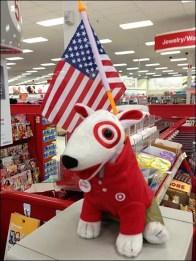 Patriotic Target Mascot 3