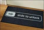 Slide to Unlock Doormat1