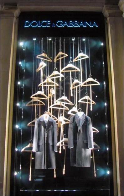 Dolce & Gabbana Retail Fixtures