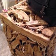 Driftwood Rubble Pile Cubed Detail