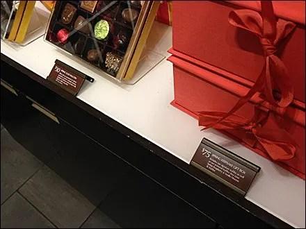 Freestanding Chocolate Label Holders Main