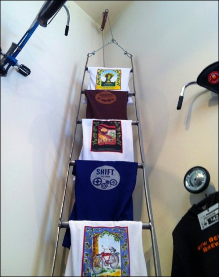 Laddered T-Shirt Merchandising