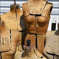 Antique Dress Forms in Visual Merchandising