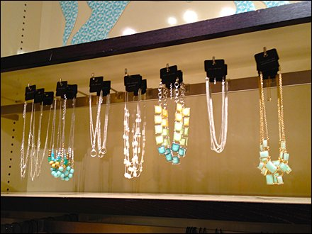 Bar Mounted Jewelry Gallery