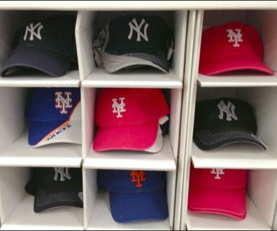 Baseball Caps Pigeonholed Aux