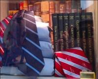 Short Story Necktie Niche Visual Merchandising