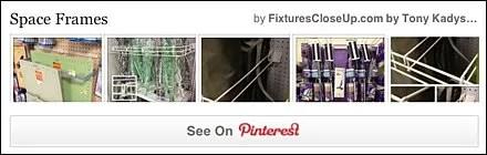 Space Frame Pinterest Board for FixturesCloseUp
