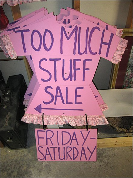 Too-Much-Stuff Consignment Sale