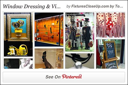 Window Dressing Pinterest Board on Fixtutes Close Up