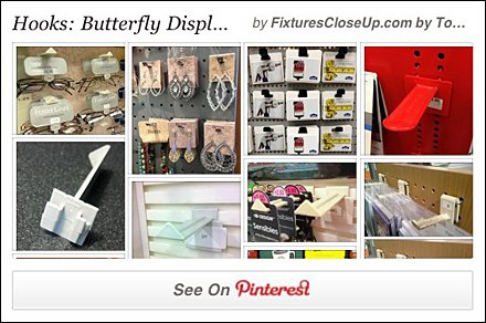 Butterfly Hook Pinterest Board for FixturesCloseUp