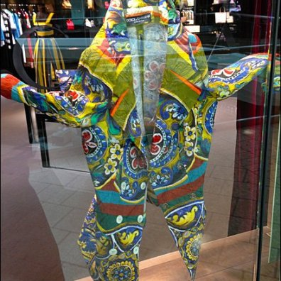 Dolce Gabana Coat of Many Colors 2