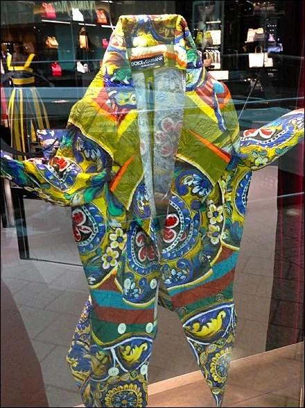 Dolce Gabana Coat of Many Colors Main