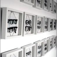 Eyewear in Shadowbox Frames Overall