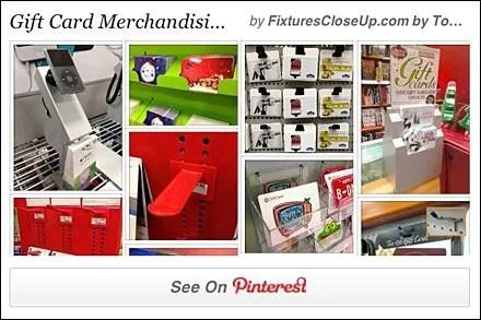 Gift Card Fixtures for Retail Pinterest Board for FixturesCloseUp