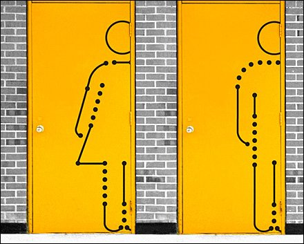 Restroom ID Drawn to Scale - Hyperakt Restroom ID