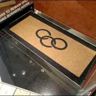 Links of London Branded Logo Floor Mat