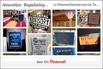 Regulating Retail Pinterest Board for Retail FixturesCloseUp