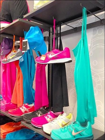 Shoefiti Visual Merchandising For That Gansta Look-  Caps and Camisoles