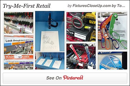 Try Me First in Retail Pinterest Board
