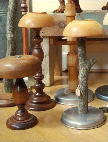 D.I.Y. Wood Bowl Headforms.