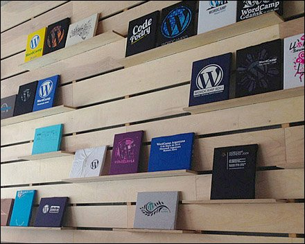 Wordpress Automatic's T-Shirt Exhibit Main