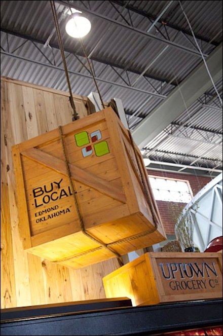 Buy Locally Suspended Crate Main