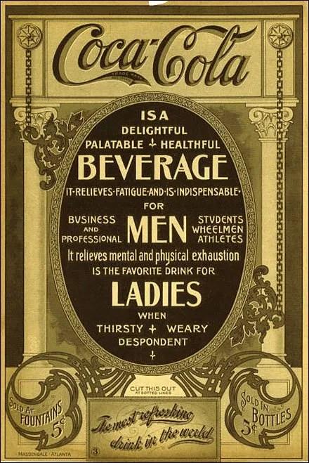 Coca-Cola Vintage Ad Copy