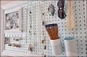DIY Framed Pegboard Jewelry Display