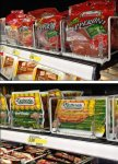 Variable-Width Wire Tray Merchandising