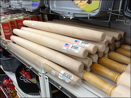 French Rolling Pin Made in USA