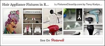 Hair Appliance Fixturing Pinterest Board on Fixtures Close Up