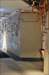 Runaway Copper Water Fountain