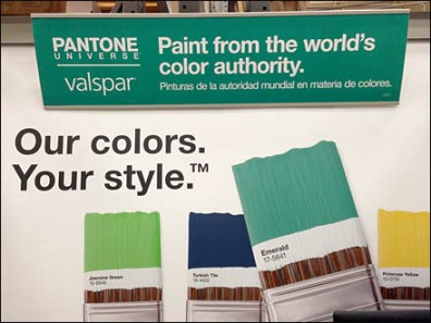 Pantone Color Paint or Valspar Main