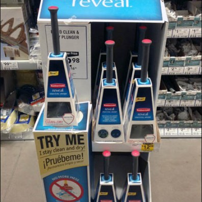 Rubbermaid Reveal Toilet Plunger POP 2