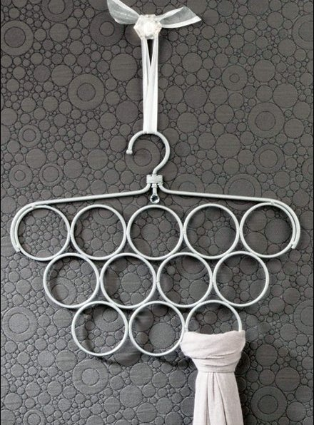Scarf Ring Swivel Hangers Main
