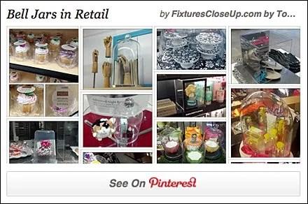 Bell Jars in Retail Pinterest Board
