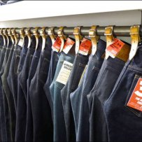 Belted Bar Jean Merchandising Overall