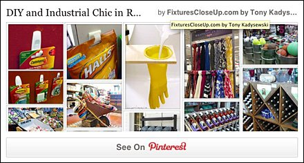 Do It Yourself and Industrial Chic Pinterest Board FixturesCloseUp